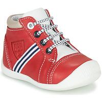 kengät Pojat Korkeavartiset tennarit GBB GABRI Punainen