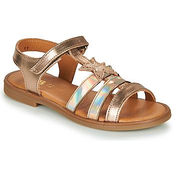 kengät Tytöt Sandaalit ja avokkaat GBB OLGA Pink / Kulta