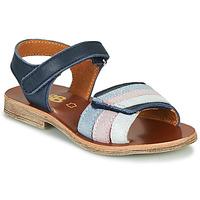 kengät Tytöt Sandaalit ja avokkaat GBB MIMOSA Laivastonsininen