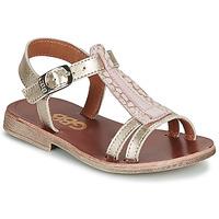 kengät Tytöt Sandaalit ja avokkaat GBB LAZARO Kulta