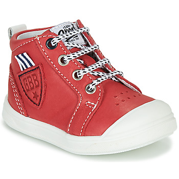 kengät Pojat Korkeavartiset tennarit GBB GREGOR Punainen