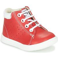 kengät Pojat Korkeavartiset tennarit GBB FOLLIO Red