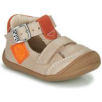 kengät Pojat Sandaalit ja avokkaat GBB BOLINA Beige / Orange