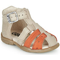 kengät Pojat Sandaalit ja avokkaat GBB BORETTI Beige / Oranssi