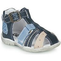 kengät Pojat Sandaalit ja avokkaat GBB BYZANTE Sininen