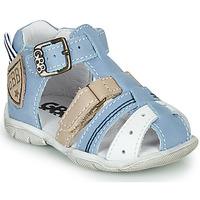 kengät Pojat Sandaalit ja avokkaat GBB BYZANTE Sininen / Harmaa