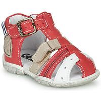 kengät Pojat Sandaalit ja avokkaat GBB BYZANTE Red