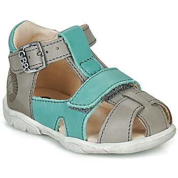 kengät Pojat Sandaalit ja avokkaat GBB SEROLO Grey / Blue