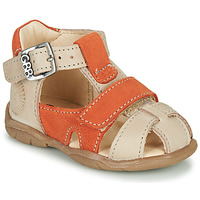 kengät Pojat Sandaalit ja avokkaat GBB SEROLO Beige / Oranssi
