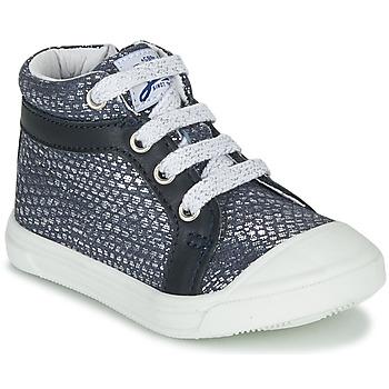 kengät Tytöt Korkeavartiset tennarit GBB NAVETTE Blue