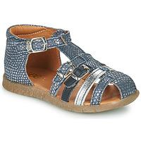 kengät Tytöt Sandaalit ja avokkaat GBB PERLE Sininen