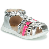 kengät Tytöt Sandaalit ja avokkaat GBB PERLE Hopea