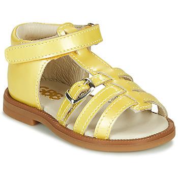 kengät Tytöt Sandaalit ja avokkaat GBB ANTIGA Yellow