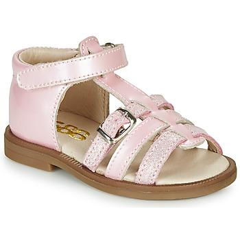 kengät Tytöt Sandaalit ja avokkaat GBB ANTIGA Vaaleanpunainen