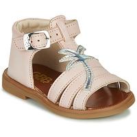 kengät Tytöt Sandaalit ja avokkaat GBB ARAGA Vaaleanpunainen