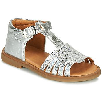 kengät Tytöt Sandaalit ja avokkaat GBB ATECA Hopea