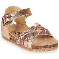 kengät Tytöt Sandaalit ja avokkaat GBB ALECTA Pink / Kulta