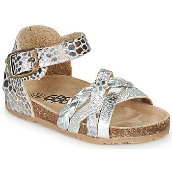 kengät Tytöt Sandaalit ja avokkaat GBB ALECTA Hopea