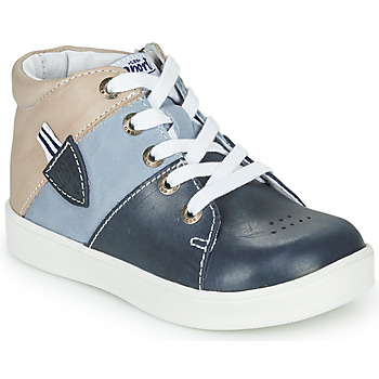 kengät Pojat Korkeavartiset tennarit GBB AMOS Blue / Grey