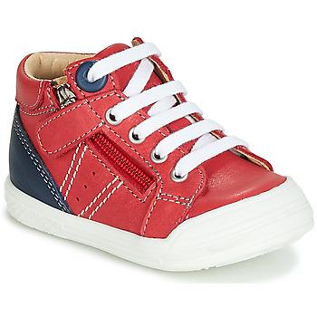 kengät Pojat Korkeavartiset tennarit GBB ANATOLE Red