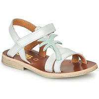 kengät Tytöt Sandaalit ja avokkaat GBB SAPELA White