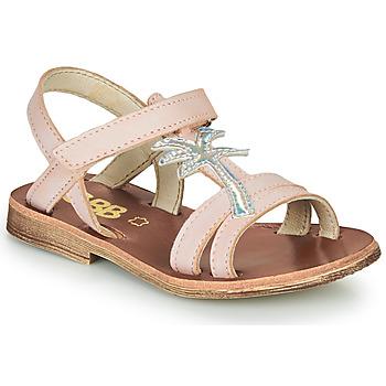 kengät Tytöt Sandaalit ja avokkaat GBB SAPELA Vaaleanpunainen