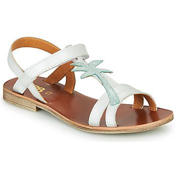 kengät Tytöt Sandaalit ja avokkaat GBB SAPELA Valkoinen