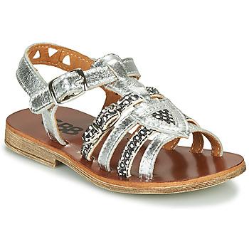 kengät Tytöt Sandaalit ja avokkaat GBB FANNI Hopea