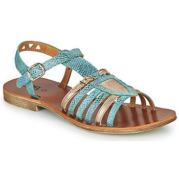 kengät Tytöt Sandaalit ja avokkaat GBB FANNI Blue / Kulta
