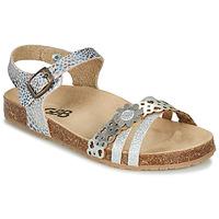 kengät Tytöt Sandaalit ja avokkaat GBB PANORA Hopea