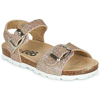 kengät Tytöt Sandaalit ja avokkaat GBB PIPPA Vaaleanpunainen / Kulta
