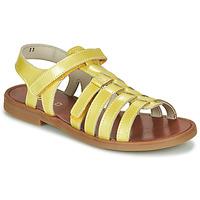 kengät Tytöt Sandaalit ja avokkaat GBB KATAGAMI Yellow