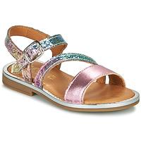 kengät Tytöt Sandaalit ja avokkaat GBB FANA Pink / Multicolour
