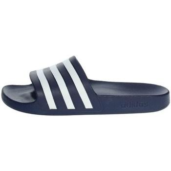 kengät Miehet Rantasandaalit adidas Originals Adilette Aqua Slides Tummansininen