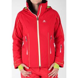 vaatteet Naiset Tuulitakit Salomon Whitecliff GTX 374720 red