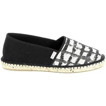 kengät Naiset Espadrillot Pare Gabia PARE GABIA VP Mix Noir Blanc Musta