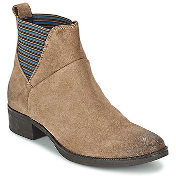 kengät Naiset Bootsit Geox MENDI ST D BEIGE