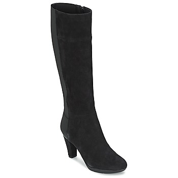 kengät Naiset Saappaat Geox INSPIRAT ST C Black