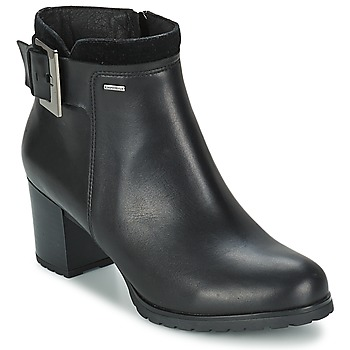 kengät Naiset Nilkkurit Geox LISE Black