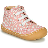 kengät Tytöt Korkeavartiset tennarit GBB ATARINA Pink