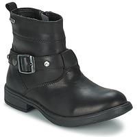 kengät Tytöt Saappaat Geox SOFIA B Black
