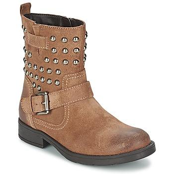 kengät Tytöt Saappaat Geox SOFIA C Brown