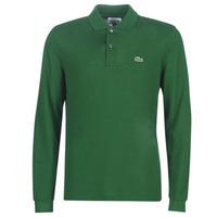 vaatteet Miehet Pitkähihainen poolopaita Lacoste L1312 Green