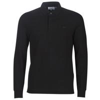 vaatteet Miehet Pitkähihainen poolopaita Lacoste PH2481 REGULAR Black