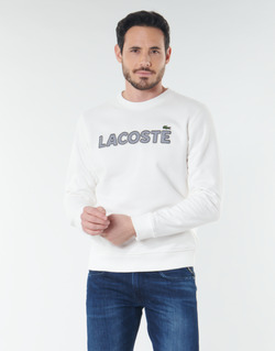 vaatteet Miehet Svetari Lacoste SH8632 White