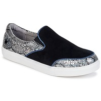 kengät Naiset Tennarit Lollipops VOLTAGE SLIP ON Black