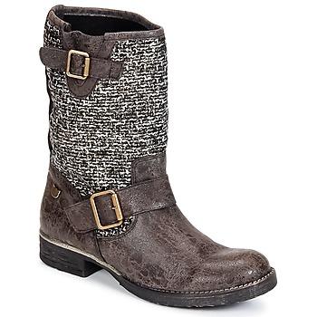kengät Naiset Bootsit Lollipops VICTOIRE BOOTS 3 Chocolat