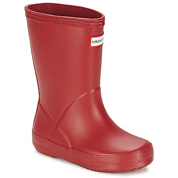 kengät Lapset Kumisaappaat Hunter KIDS FIRST CLASSIC Red
