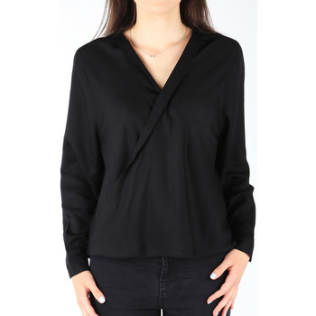 vaatteet Naiset Paitapusero / Kauluspaita Wrangler L/S Wrap Shirt Black W5180BD01 black