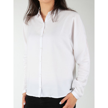 vaatteet Naiset Paitapusero / Kauluspaita Wrangler Relaxed Shirt W5213LR12 white